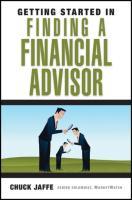 Finding a Financial Advisor - Jaffe, Chuck