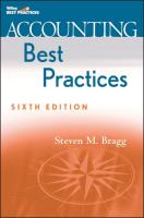 Accounting Best Practices - Bragg, Steven M.