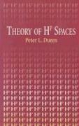 Theory of HP Spaces - Duren, Peter L.