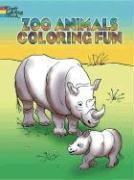 Zoo Animals Coloring Fun - Stewart, Pat