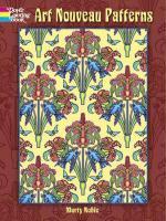 Art Nouveau Patterns - Noble, Marty