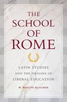 The School of Rome - Bloomer, W. Martin