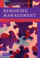 Remaking Management