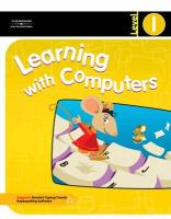 Learning with Computers Level 1 - Trabel, Diana; Hoggatt, Jack