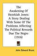 The Awakening of Hezekiah Jones: A Story Dealing with Some of the Problems Affecting the Political Rewards Due the Negro (1916) - Bruce, John Edward