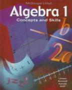 Algebra 1: Concepts and Skills - Larson, Ron; Boswell, Laurie; Kanold, Timothy D.