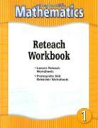 HM Mathematics: Reteach Workbook, Level 1