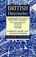 British Directories 2nd Ed - Shaw, Gareth; Tipper, Allison; Tipper, Allison
