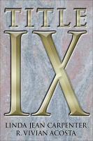 Title IX - Carpenter, Linda Jean; Acosta, R. Vivian