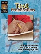 Steck-Vaughn Core Skills: Test Prep: Workbook Grade 1