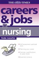 Careers and Jobs in Nursing - Nazarko, Linda