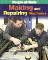 Making and Repairing Machines - Champney, Jan