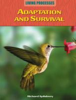 Adaptation and Survival - Spilsbury, Richard