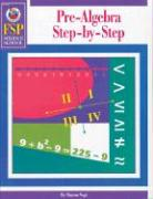 Pre-Algebra Step-By-Step, Middle School - Vogt, Sharon