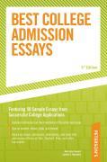 Peterson's Best College Admission Essays - Stewart, Mark Alan; Muchnick, Cynthia Clumeck