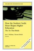 How the Student Credit Hour Shapes Higher Education: The Tie That Binds: New Directions for Higher Education - He; Wellman