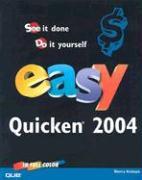 Easy Quicken 2004 - Kinkoph, Sherry Willard