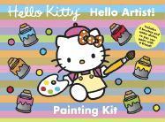 Hello Kitty Hello Artist! Painting Kit - Higashi/Glaser, Design Inc