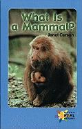 What Is a Mammal? - Carson, Janet