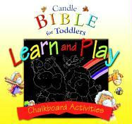 Candle Bible for Toddlers Learn and Play: Chalkboard Activities [With 4 Colored Chalk and Cloth of Erasing] - David, Juliet