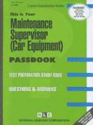 Maintenance Supervisor (Car Equipment)