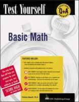 Test Yourself: Basic Mathematics - Newell, Patricia; Newell Patricia