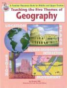 Teaching the Five Themes of Geography, Grades 5 - 12 - Schaffer, Frank