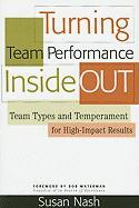 Turning Team Performance Inside Out: Team Types and Temperament for High-Impact Results - Nash, Susan