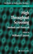 High Throughput Screening: Methods and Protocols - Janzen, William P.
