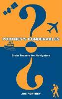 Portney's Ponderables - Portney, Joe