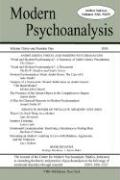 Modern Psychoanalysis, Volume 31, Number 1 - Center for Modern Psychoanalytic Studies