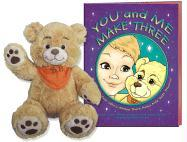 You and Me Make Three [With Plush B.B. the Bear] - Lokken, Wendy; Mangiamele, Gwendy; Stephens, Edna Cucksey