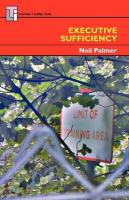 Executive Sufficiency - Palmer, Neil