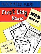 First Easy Mazes (Socrates Kids Workbook Series)
