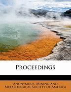 Proceedings - Anonymous