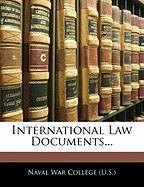 International Law Documents...