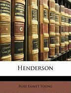 Henderson - Young, Rose Emmet