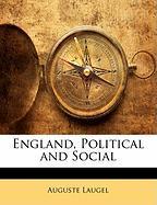 England, Political and Social - Laugel, Auguste