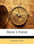 Prose E Poesie - Conti, Antonio