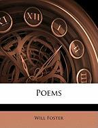 Poems - Foster, Will