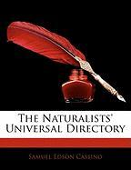 The Naturalists' Universal Directory - Cassino, Samuel Edson