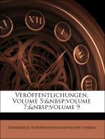 Veröffentlichungen, Volume 5; volume 7; volume 9 - Naturwissenschaftlicher Verein, Osnabrück