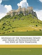 Journals of the Honorable Senate and House of Representatives of the State of New Hampshire