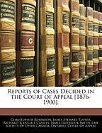 Reports of Cases Decided in the Court of Appeal [1876-1900]. - Robinson, Christopher