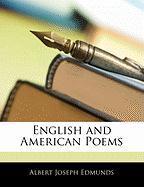 English and American Poems - Edmunds, Albert Joseph