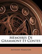 Mmoires de Grammont Et Contes - Hamilton, Anthony