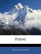 Poems - Cowper, William