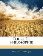 Cours de Philosophie - Larroque, Patrice