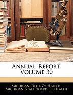 Annual Report, Volume 30