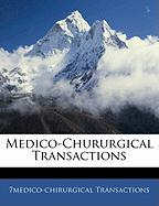 Medico-Chururgical Transactions - Transactions, 7medico-Chirurgical